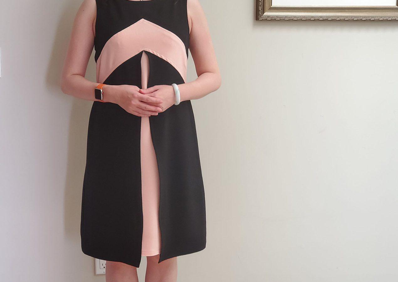 Vogue Pattern V1797 Tom And Linda Platt layered dress