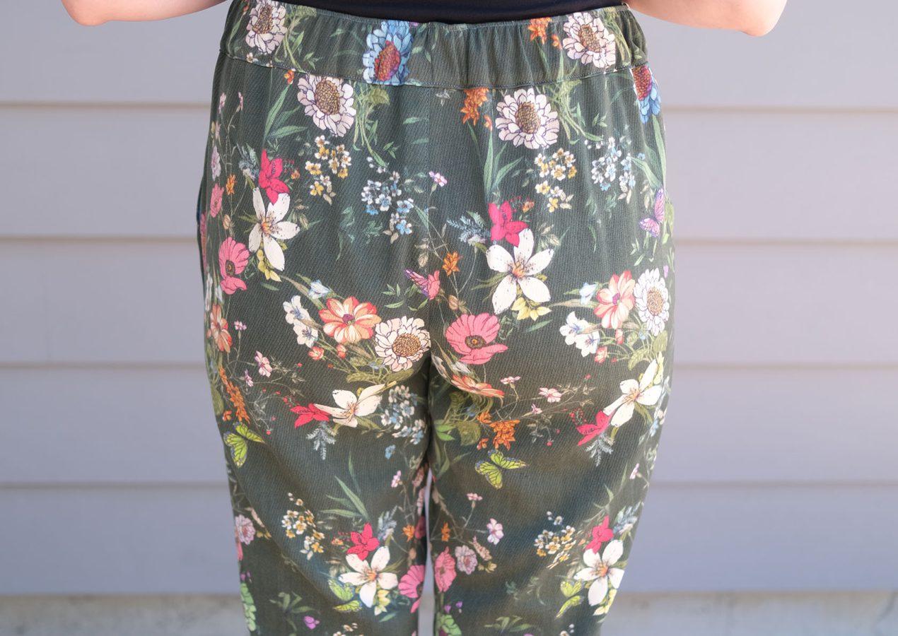 Sinclair Poppy Woven Pants Pattern Review