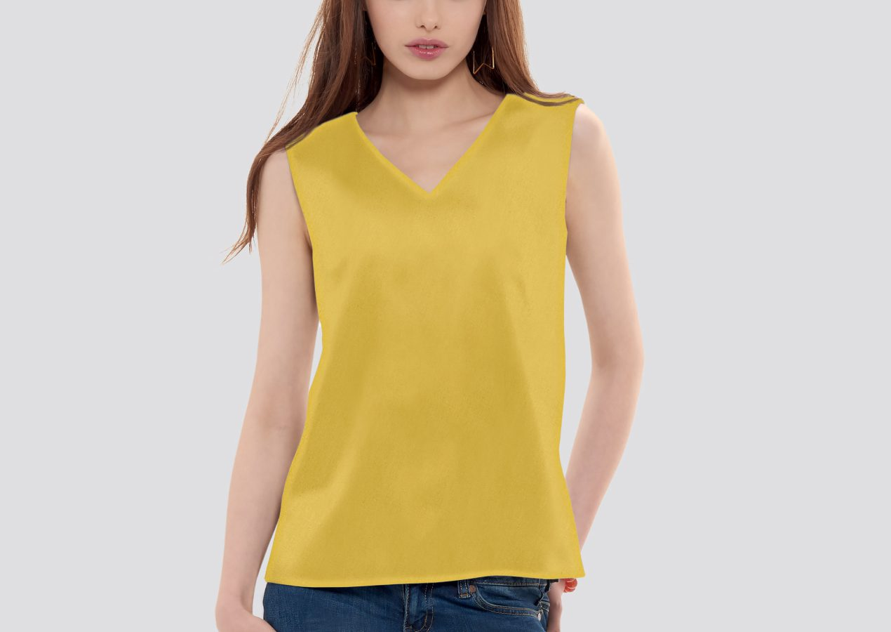 Simplicity S9133 Woven top w/o closure Review