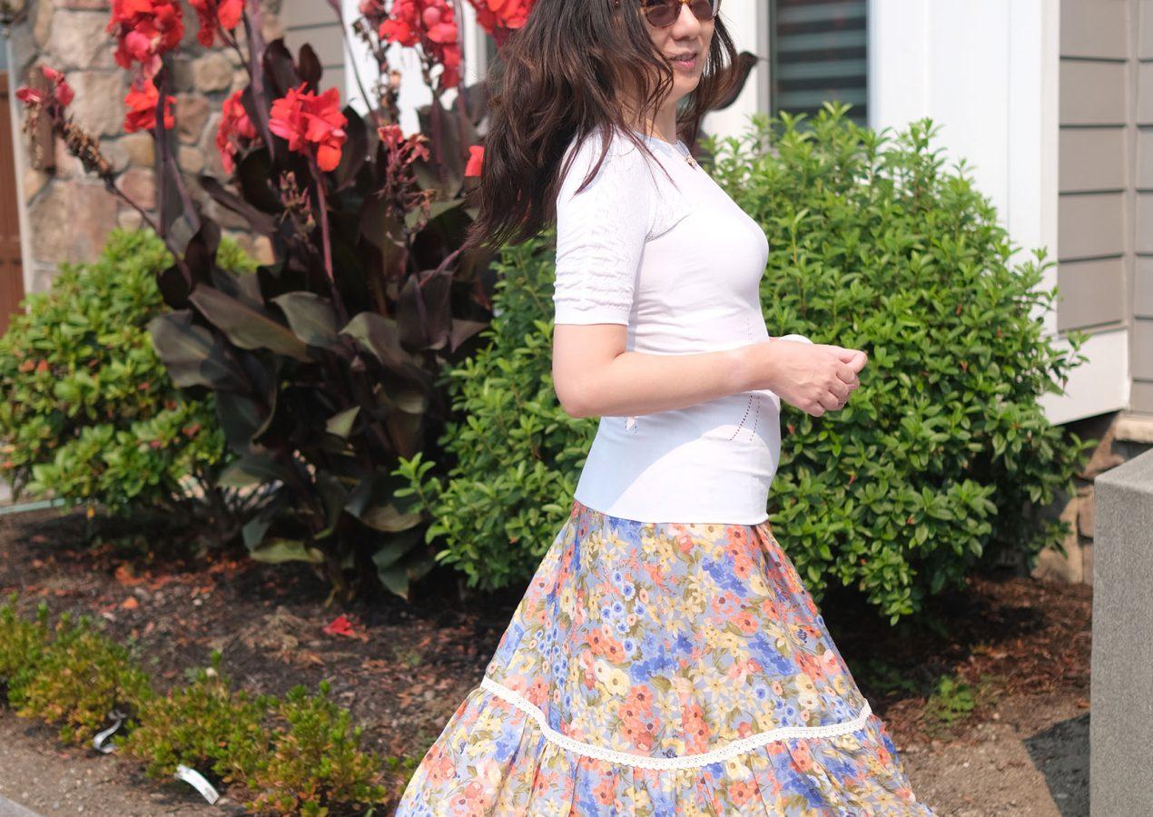 Ettie Petticoat, classic pattern in a modern presence